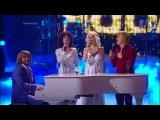 Наталья Подольская, Анастасия Макеева, Глеб Матвейчук и Интарс Бусулис. ABBA Happy New Year.
