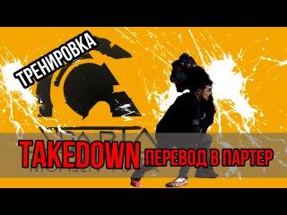 Takedown (тейкдаун) — перевод в партер