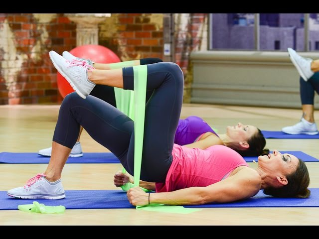 Cathe Friedrich's ICE To The Mat Legs Glutes Workout Video