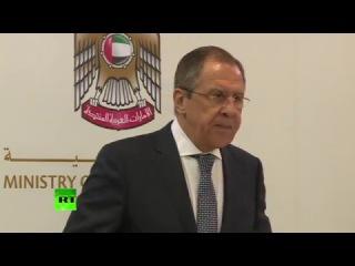 Сергей Лавров обсудил ситуацию на Ближнем Востоке с главой МИД ОАЭ