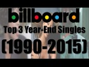 Billboard Top 3 Hot 100 Year-End Singles (1990-2015)
