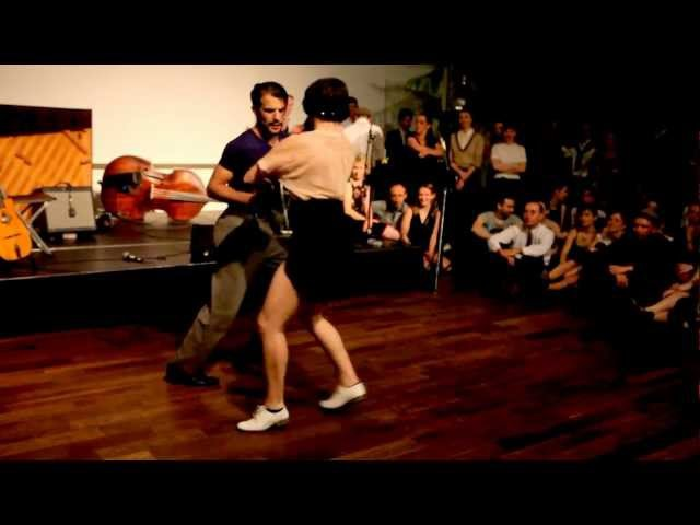 Jazz Roots Dance Festival Paris 2012 - Sharon Davis Juan Villafane Social Dancing