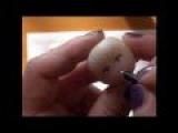 Come dipingere un visino in pasta gabrylea