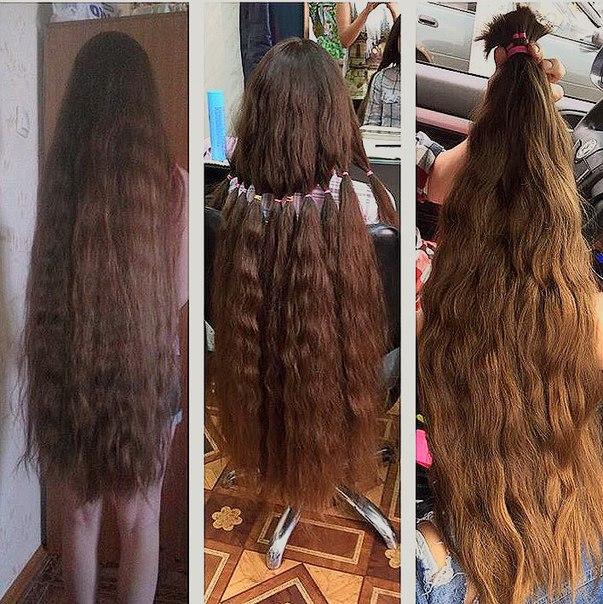 Наращивание волос 1 метр
