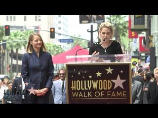 Kristen Stewart speech at Jodie Foster Ceremony Hollywood Walk of Fame