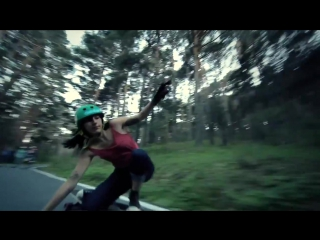 """Carving the Mountains"" by Juan Rayos and Longboard Girls Crew"