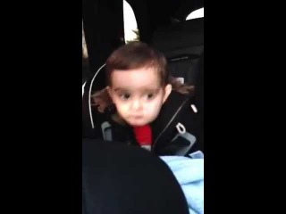 Baby dancing to ASAP Rocky Goldie