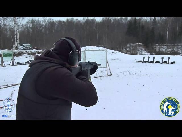 Сайга-20К и патроны Рекорд с пулей Стрела. (Saiga-20K and bullet cartridges Record Strela)