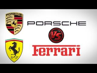 Ferrari LaFerrari против Porsche 911 GT3 RS! Какая круче?