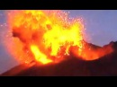 Мощное извержение вулкана произошло в Японии