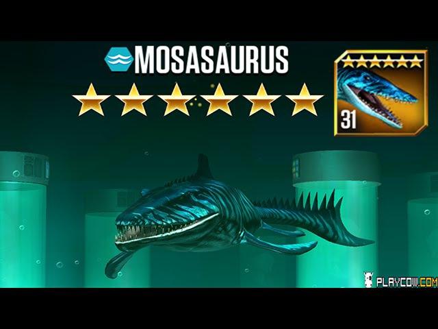 Feeding New Dinosaurs Mosasaurus Jurassic World The Game