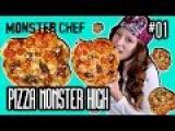 Монстряшки - вкусняшки и новые куклы Монстер Хай Школа Монстров Monster High Монстер Шеф пицца