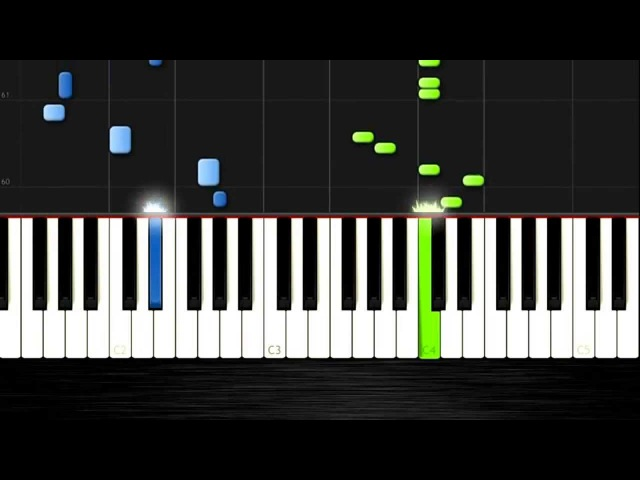 Super Mario Bros - EASY Piano Tutorial by PlutaX - Synthesia