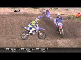 Jeremy Van Horebeek crash MXGP of Trentino 2015 - motocross