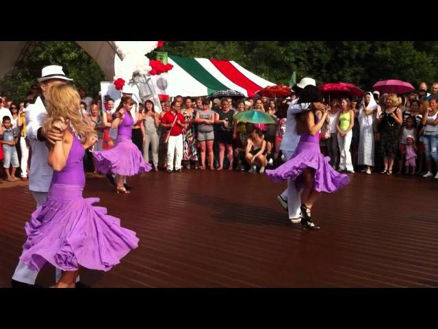 Son Cubano Armeny Casa Latina Fest Moscow 08 2012