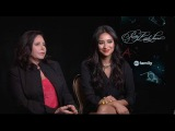 Pretty Little Liars- Shay Mitchell and Marlene King AfterEllen Interview
