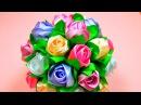 Мастер-класс Бутоны Роз в Букет-Шар. / Ribbon Rose, Bouquet-Ball / ✿ NataliDoma