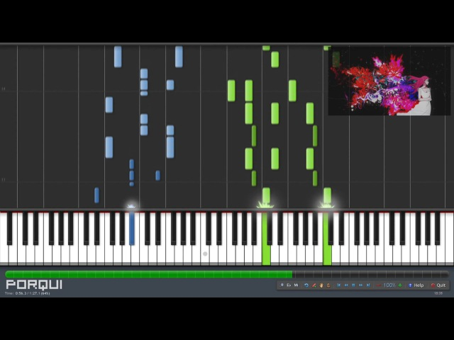 Tokyo Ghoul Opening - unravel (Piano Synthesia)