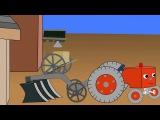 Мультфильм про маленький трактор  Детская передача Учимся Вместе