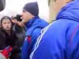Акинфеев-Иди сам встань в ворота! Разговор Игоря Акинфеева с фанатами....