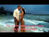It's Impossible - PERRY COMO - With lyrics
