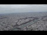 Вид с Эйфелевой башни. Париж никогда не кончается.