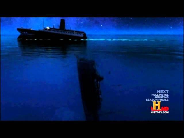 Titanic 2013 sinking theory (History Channel simulation)