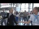 Флешмоб в аэропорту Внуково от Танцующего Города