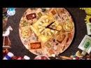 Декупаж Декорируем поднос и часы используя трехслойные бумажные салфетки Мастер класс
