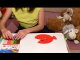 NEW! Рыбка из бумажной тарелочки! Простые и быстрые поделки для детей! от 2 лет!