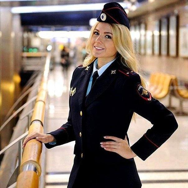 девушка в полицейской форме фото-йд1