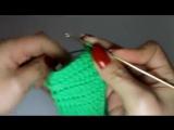 Крючок для начинающих  вяжем повязку на голову