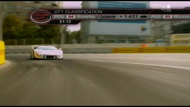 FIA GT 2008. Этап 6 - Бухарест. Вторая гонка