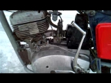 Зима 30.01.2016 г. Проект мотоцикла ИЖ-Планета 5 из мотоцикла ИЖ-Юпитер 4