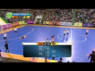 [HOT] 아이돌 풋살 월드컵 K-Pop Star Futsal Worldcup - 에이스 민호-레오의 대결! 결과는 Heroes Min-ho and LEO 20140612