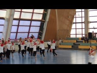 Общий танец школы черлидинга Импульс 19.12.2015
