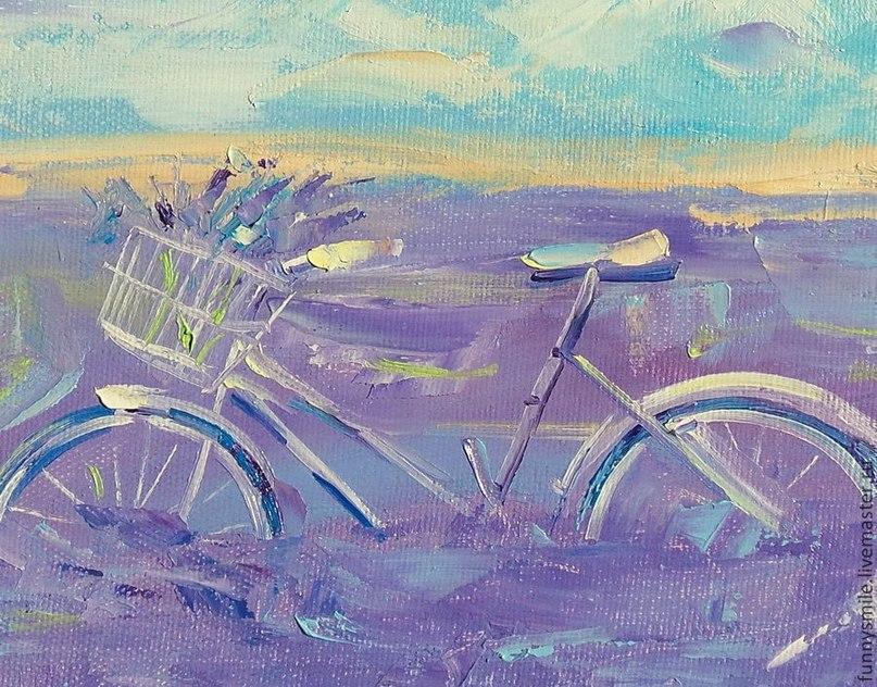 Лавандовый велопробег в Алуште