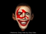 Political Clown, Barack Hussein Obama Performs Crazy Train by, Ozzy Osbourne. Voiceover by, Mo...