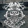 14.05.16   ARDA + SUPPORT   CRAZY TRAIN