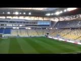 Арена Львів перед матчем Україна - Словенія