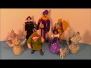 1996 DISNEY'S THE HUNCHBACK OF NOTRE DAME SET OF 8 BURGER KING KID'S MEAL MOVIE TOY'S VIDEO REVIEW