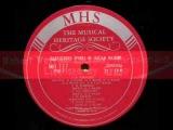 Domenico Cimarosa - Robert Veyron-Lacroix Sonata in G major - 1967 Recording