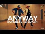 Chris Brown - Anyway ft Tayla Parx #TMillyFreestyleSeries Konkrete &amp Bdash @chrisbrown