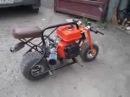 самодельный мини байк mini bike home made