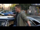 Jensen Ackles as Dean singing The Eye Of The Tiger