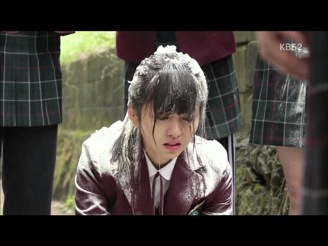 [HIT] 후아유-학교 2015 - 왕따소녀 김소현, 첫 등장부터 밀가루 세례 받아.20150427