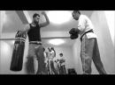 Kick boks antremanı
