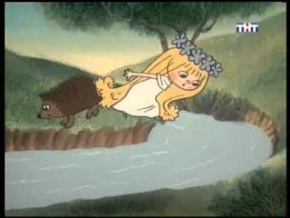 Мультик для детей - Сказки о фее Амальке. Как Амалька помогала ежику с горячей лапкой