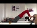 Fitlab Pilates Упражнение дня Полукруг на реформере