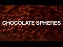 Молекулярная кухня - насыщенная шоколадная икра